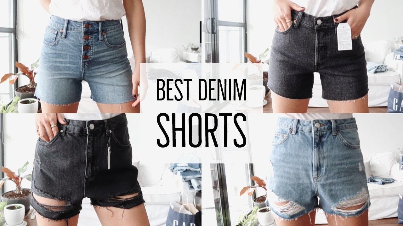 e20413446 BEST JEANS || SHORTS TRY-ON + HAUL - YouTube