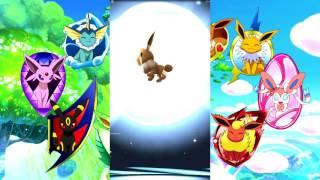 Pokémon GO [Покемон Го]. Пасхалка. Eevee, как повлиять на её судьбу.