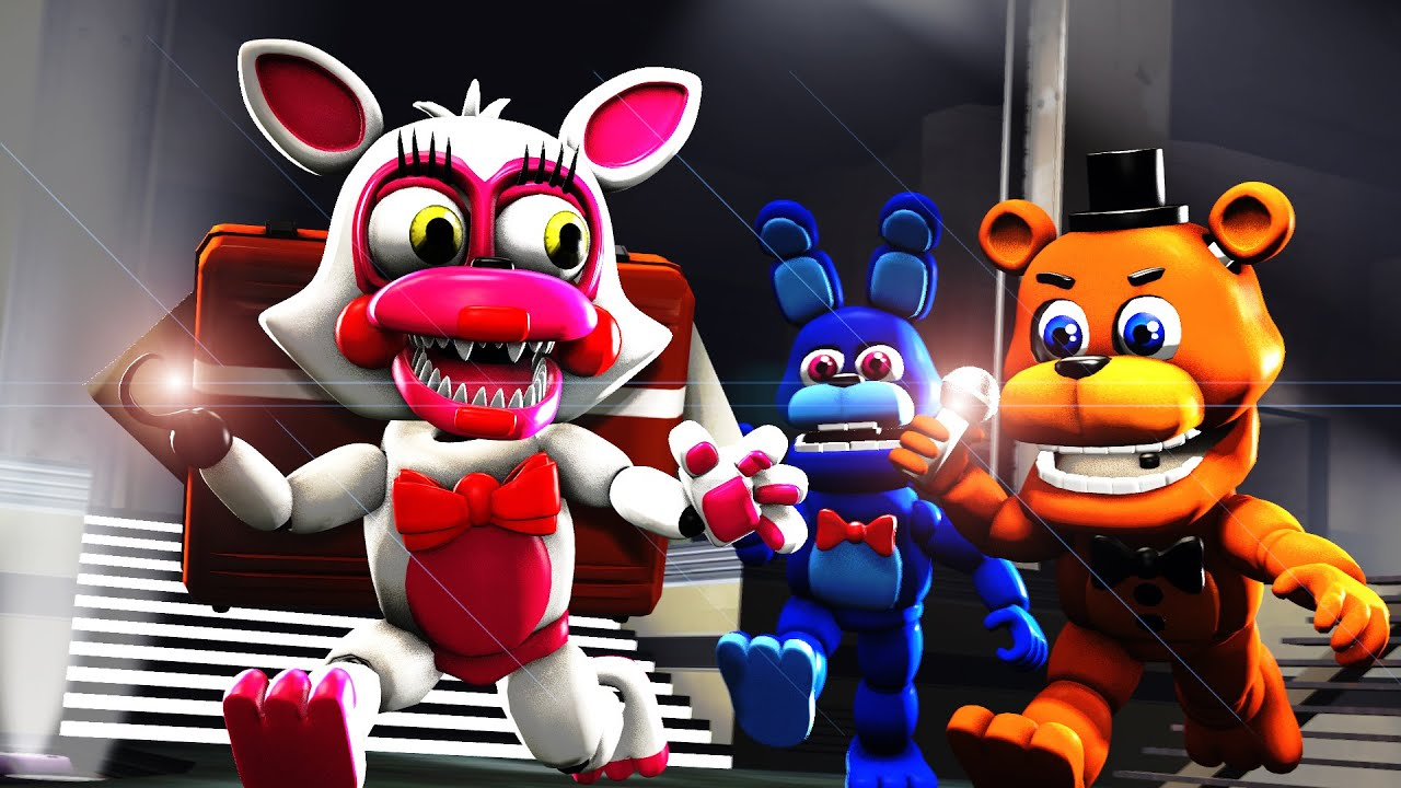 Five nights at freddys mangle pictures