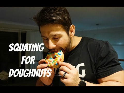 Vlog ,Leg Day and Doughnut Time