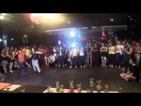Adelaide's Best Social Dancer Competition Series 2014 - Finals - Zouk - Andrew and Hannah