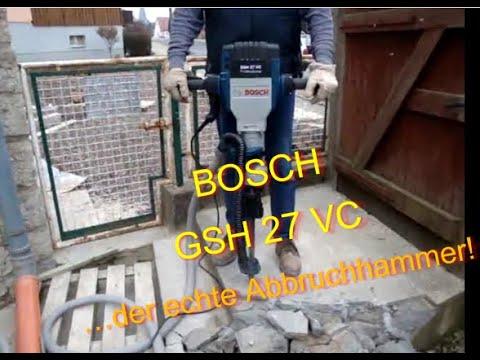 Електрически къртач BOSCH GSH 27 VC #6FGwBkQrpR0