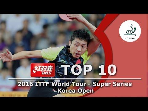 DHS ITTF Top 10 - 2016 Korea Open