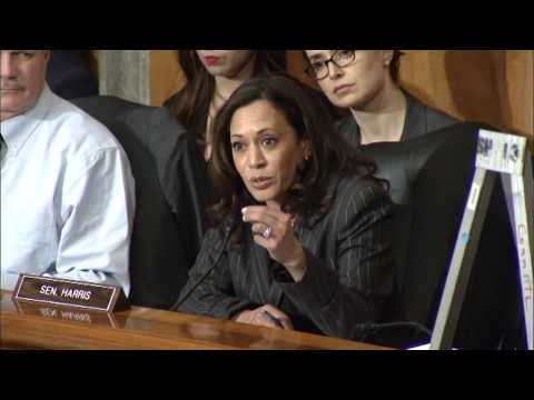 Senator Harris questions DHS Nominee, General John Kelly