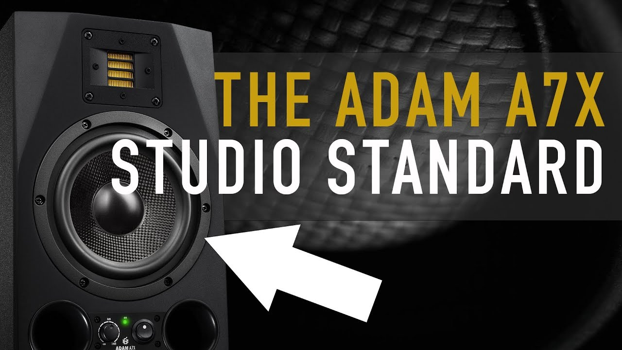 ADAM Audio - A7X Active Studio Monitor (Nearfield)