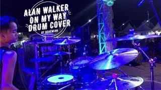 Download lagu ALAN WALKER - ON MY WAY   DRUM COVER LIVE
