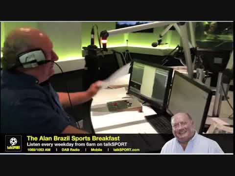 Alan Brazil Rolls In Late Then Chats Up The Girls On talkSPORT
