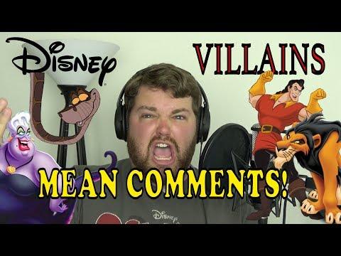 Disney Villains Read Mean Comments