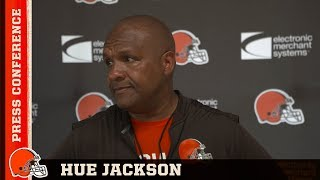 Hue Jackson: We are deep in the grind of training camp