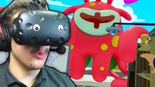 Rick and Morty: VR #2 | Огромный монстр | HTC VIVE | Упоротые игры