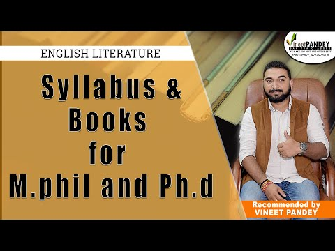 (अति महत्वपूर्ण ) Syllabus and Books for M.Phil and PhD Entrance University Of Delhi