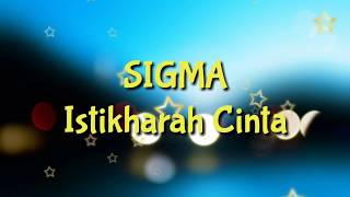 SIGMA - Istikharah Cinta /KARAOKE NASYID/Minus One