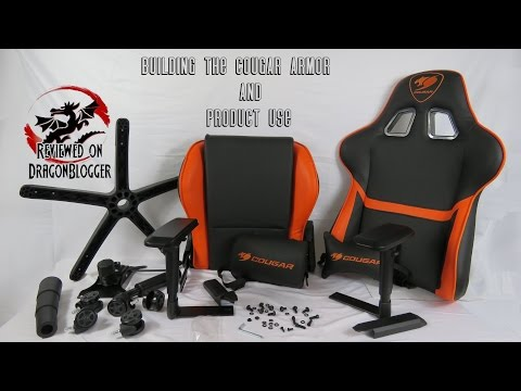 Building the Cougar Armor Gaming Chair and Use