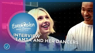 Tamta and her dancers show the first 'Replay' moves! - Cyprus 🇨🇾- 2019 Eurovision Song Contest