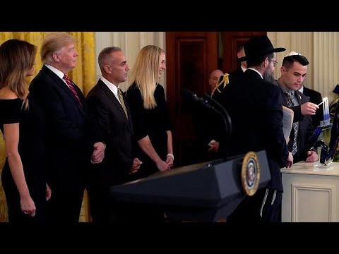 في عيد الأنوار اليهودي: -ترامب أعظم صديق لليهود في البيت الأبيض-…  - 11:54-2018 / 12 / 7