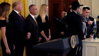 """في عيد الأنوار اليهودي: """"ترامب أعظم صديق لليهود في البيت الأبيض""""…"""