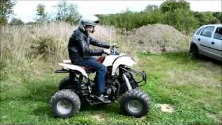( 1er sortie ) QUAD PROTOTYPE MOTEUR MOTO 600cc !!
