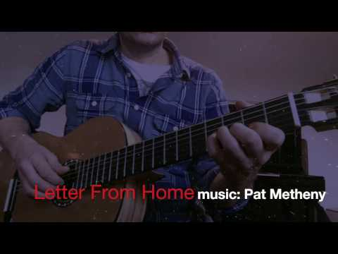 Letter From Home - solo version for 3 guitars :)