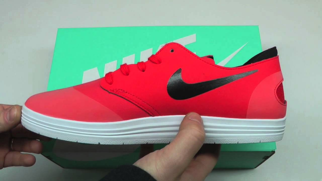 MOVESHOP NIKE SB LUNAR ONESHOT 631044 600 CRIMSON BLACK