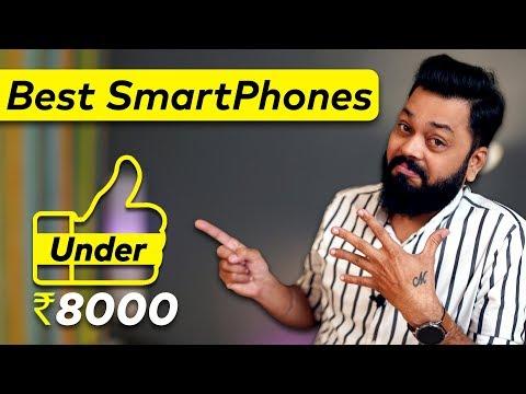 Top 5 BEST Mobile Phones Under 8000 ⚡⚡⚡Best Budget Phones (February 2020)