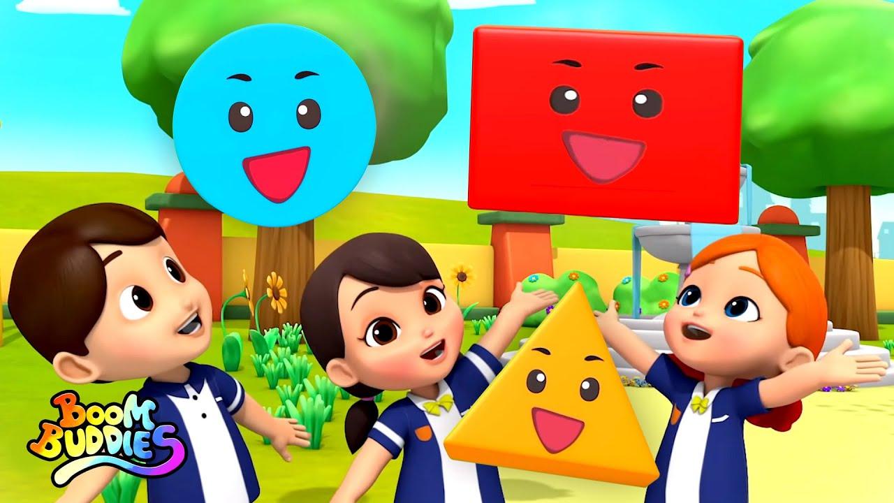 Lagu bentuk | Lagu anak anak | Puisi untuk anak | Kids Tv Indonesia | Bayi Sajak