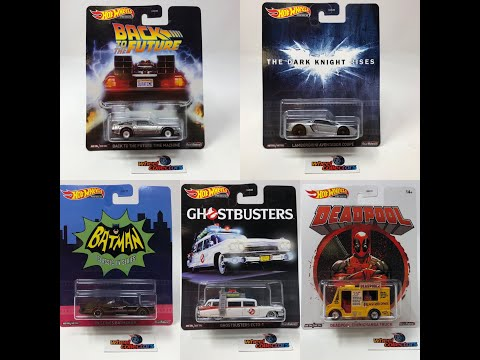 2020 HOT WHEELS REPLICA ENTERTAINMENT R CASE UNBOXING! Back To The Future, BATMAN, GHOSTBUSTERS