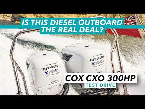 Is this diesel outboard the real deal? Cox CXO 300hp tested