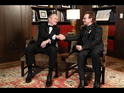 Forum on Leadership: A Conversation with President Bush and Bono