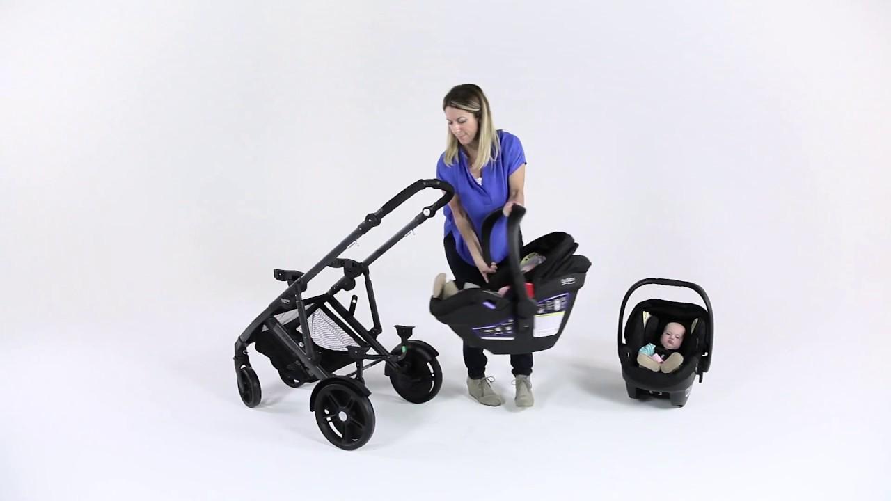 Britax B-Ready Pushchair Adapters For Maxi-Cosi Car Seats
