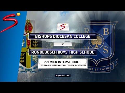 Premier Interschools - Bishops Diocesan College vs Rondebosch Boys High School - 1st half