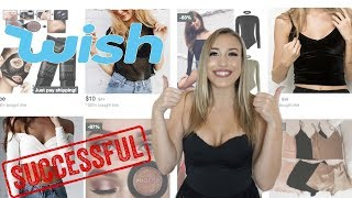 TRYING $5 ITEMS I BOUGHT ON WISH!! *SUCCESS!!*