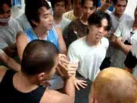 Evergreen Sky Catering Corp. (Taiwan) Arm Wrestling!!!