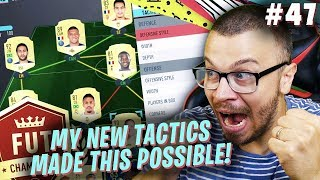 FIFA 20 MY INSANE UNBEATEN FUT CHAMPIONS PERFORMANCE WITH NEW OVERPOWERED TACTICS in ULTIMATE TEAM!
