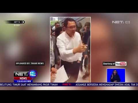 Ahok Kesal Saat Petugas Tidak Mendahulukan Warga Yang Terdaftar di DPT NET12