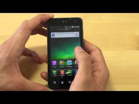 LG Electronics P990 Optimus Speed 2X Test Quickstart