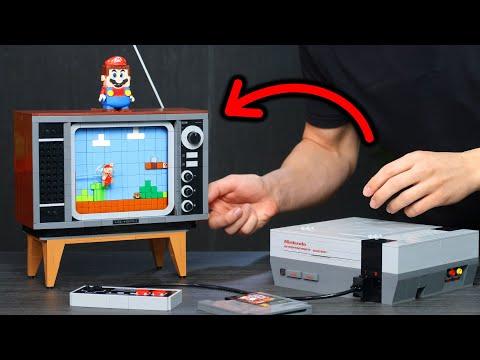 así funciona la NES de LEGO 😲 Nintendo Entertainment System X LEGO Super Mario (UNBOXING y MONTAJE)