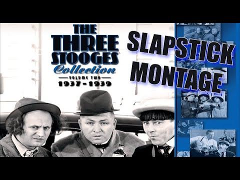 The Three Stooges (Volume 2) Slapstick Montage