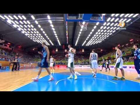 Eurobasket Lietuva - Bosnija ir Hercegovina 2013 09 09 PDTV LT
