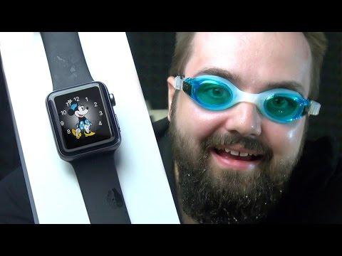 Apple Watch 2. Jsou fakt vodotěsné? (první unboxing)