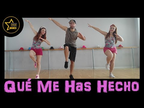 Qué Me Has Hecho  Chayanne FT wisin zumba  Andrea Stella Choreo Dance