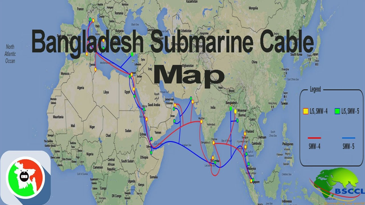 How to work submarine cable bandwidth Bangladesh (BSCCL ...
