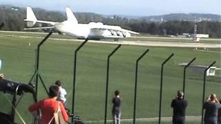 Antonov An- 225 das grösste Flugzeug der Welt! 25.09.2013 Flughafen Zürich