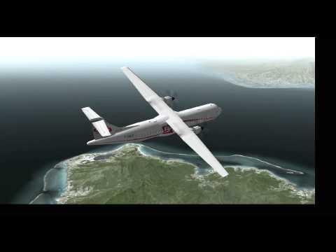 The Society Islands Tahiti NTAA X-Plane