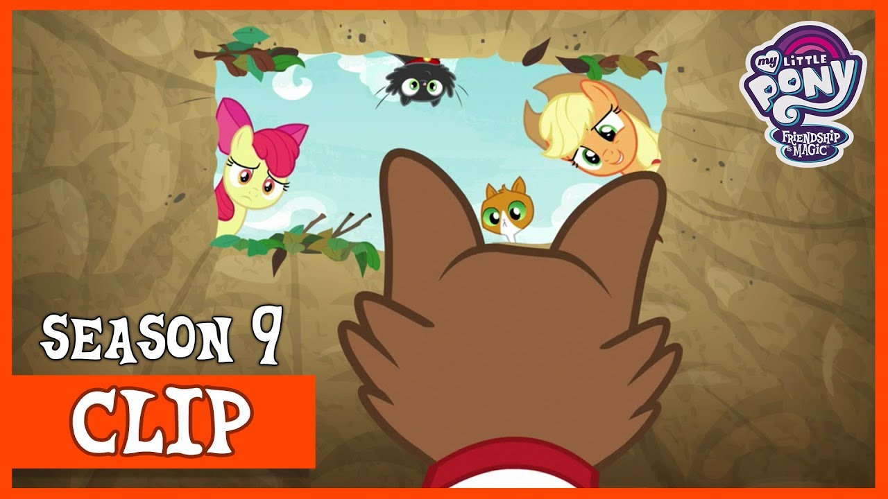 Download Applejack and Apple Bloom Set Traps for the Great Seedling (Going to Seed) | MLP: FiM [HD]