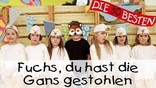 Fuchs, du hast die Gans gestohlen - Singen, Tanzen und Bewegen || Kinderlieder