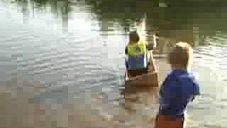 Wooden Boat - Test Launch