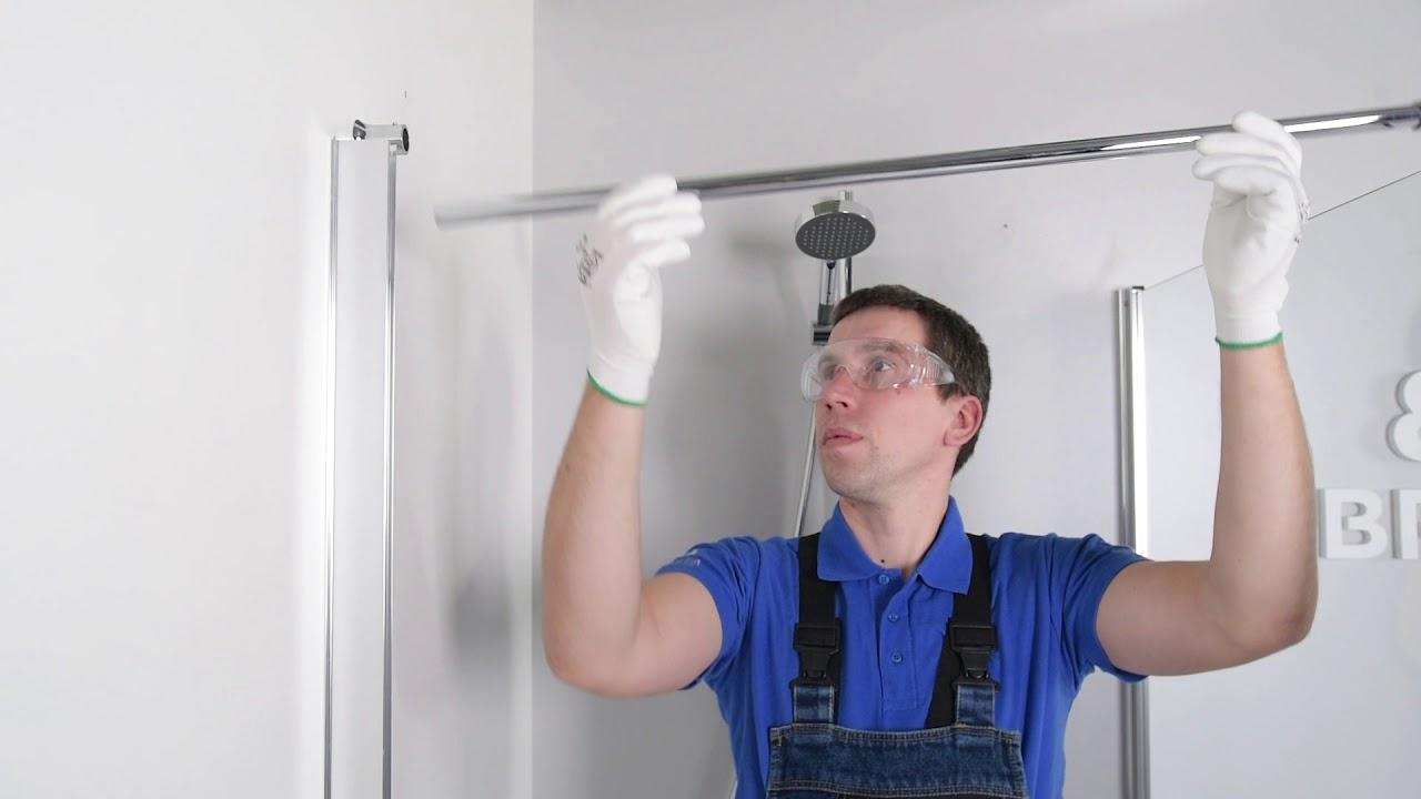 ERIKA shower enclosure assembly guide  sc 1 st  YouTube & ERIKA shower enclosure assembly guide - YouTube