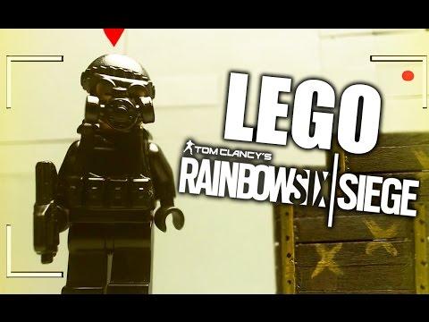 RAINBOW SIX SIEGE VERSIÓN LEGO - RAINBOW SIX SIEGE EN LA VIDA REAL REACCIÓN