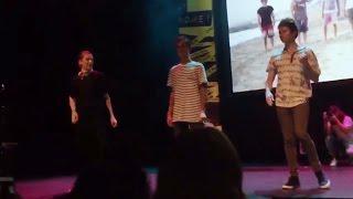 kian jc trevor ricky dancing to o2l song