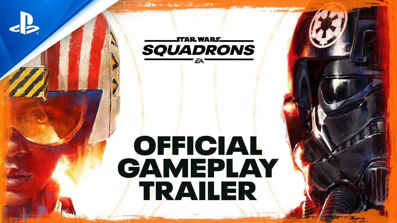 『Star Wars:スコードロン』公式ゲームプレイ・トレーラー